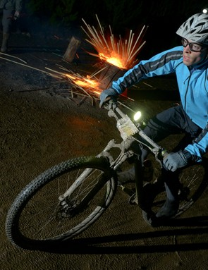 The Strathpuffer, held near Strathpeffer, in Scotland, is widely regarded to be one of the hardest mountain bike races in the world