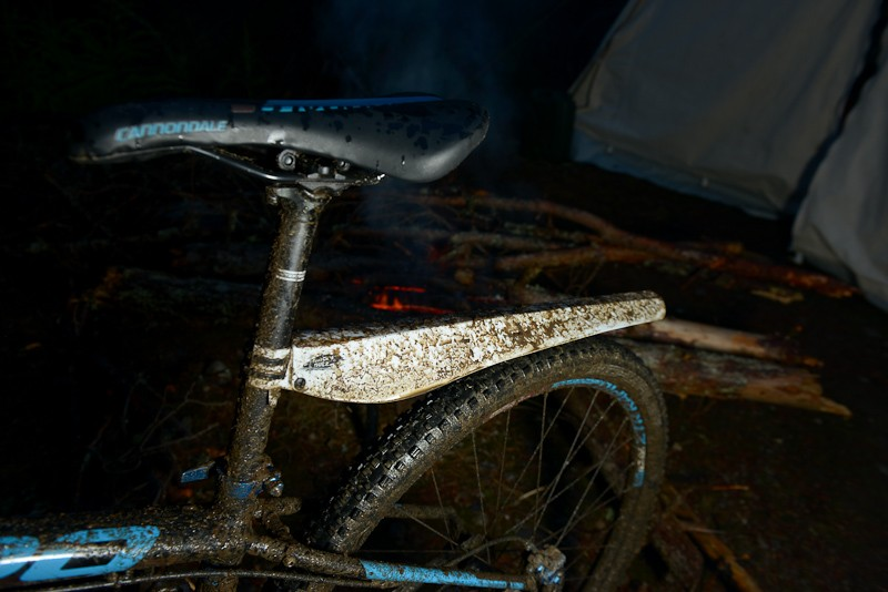 Luckily, temperatures stayed above zero, but there was still plenty of mud on the ground