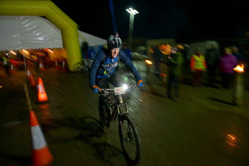 By the time night fell, the laps were starting to get harder for everyone
