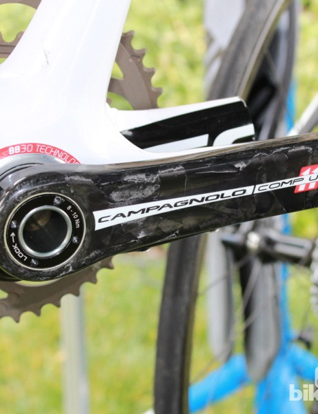 The Over-Torque Comp Ultra is one of two new dedicated PressFit Campagnolo cranks