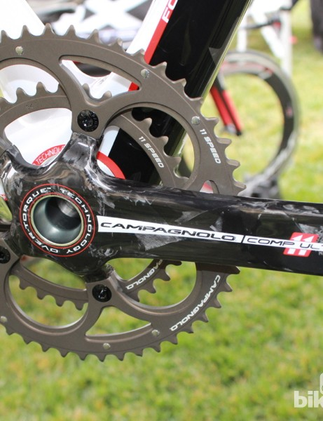 The Over-Torque Comp Ultra, at 563g, uses hollow crank arms