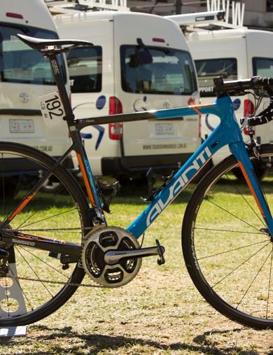 Jack Haig's new Avanti Corsa SL