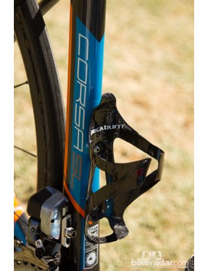 Blackburn supply the bottle cages