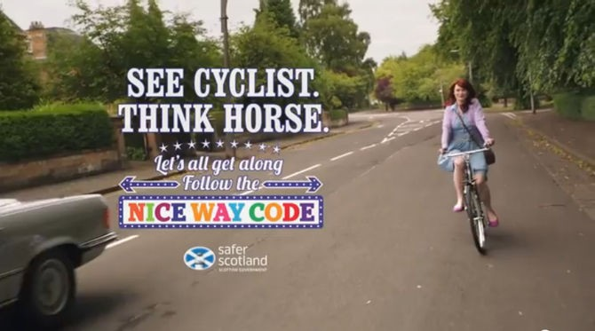 The ASA has rescinded a decision to ban the See Cyclist. Think Horse ad, pending further review