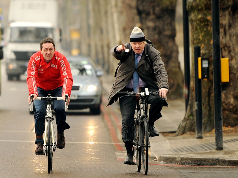 London mayor Boris Johnson has led plans to ban unsafe lorries from London's roads