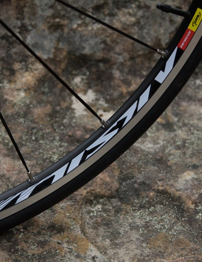 Mavic Aksium S wheels are a reliable choice given the price point