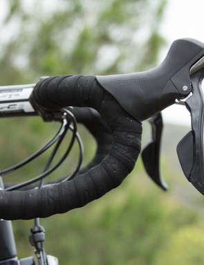 The FSA Compact handlebar shape is a good choice and is likely to suit most hand sizes