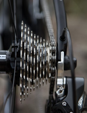 11 gears out back from Shimano's Ultegra groupset