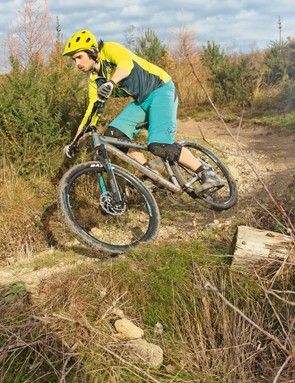 The 905's super confident handling can make you over-reach what it's reasonable to expect a hardtail