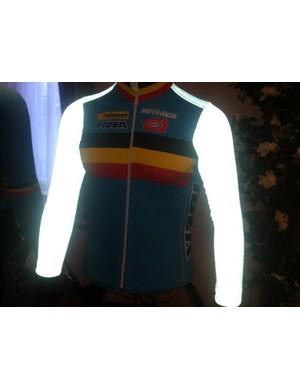 The Belgian Bio-Racer suits that glow in the dark