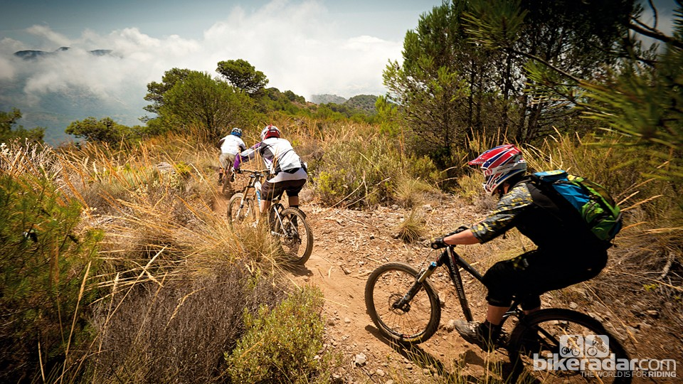 Mountain bikers of all ability leves will find something to suit them in Andalucia