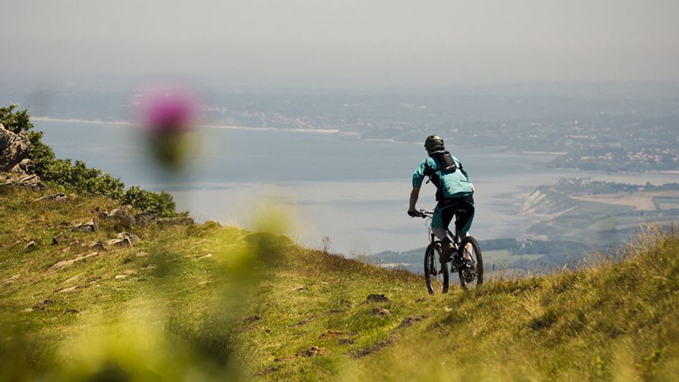 The Spanish Pyrenees offers some challenging climbs and descents as well as gentler mountain bike rides