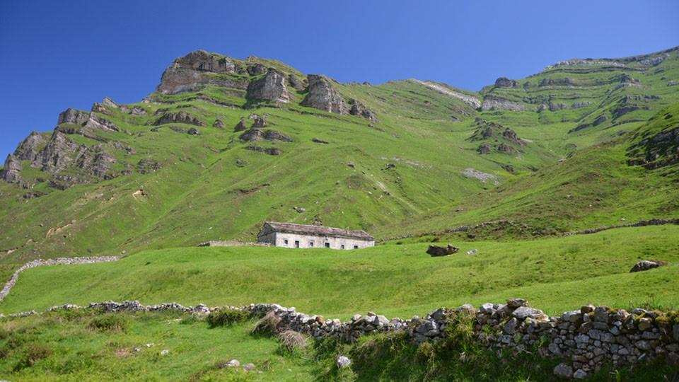 The tempting landscape of Lunada, near Santander