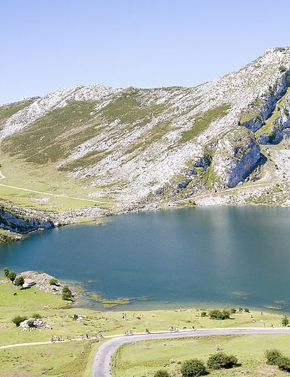 Enol Lake, Picos de Europa – an ideal destination if you fancy a more challenging road ride