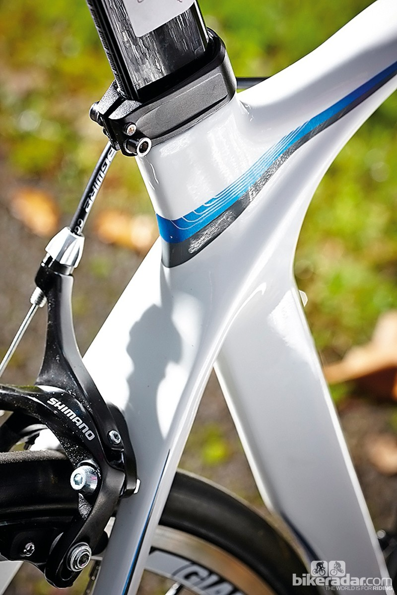 6c895005c0f Aero benefits but seatpost choice will be very limited