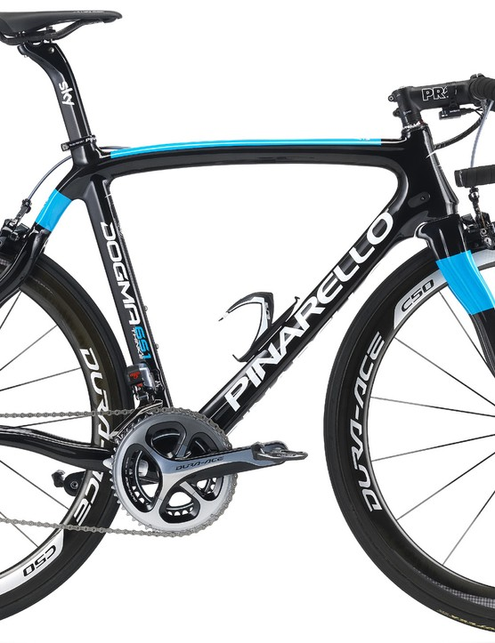 Official photo of the new Pinarello Dogma 65.1k Think2 frameset