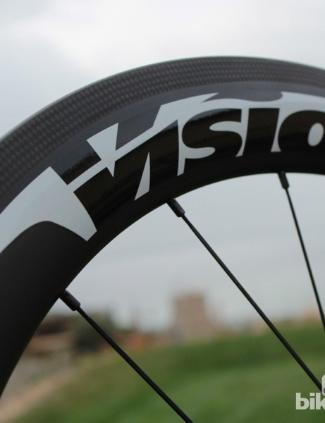 Vision's Metron carbon wheels were raced by Cannondale Pro Cycling last season, and are now available for sale