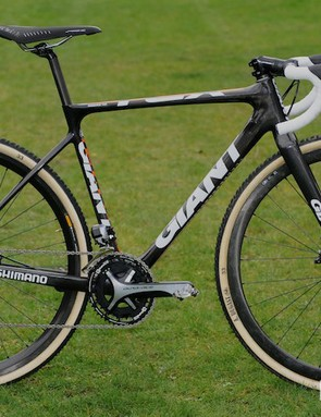 World cyclocross champion Marianne Vos' Giant TCX Disc