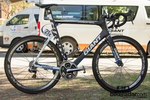 Marcel Kittel's 2014 race rig - the Giant Propel Advanced SL