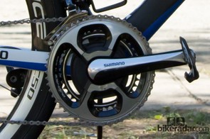 Like so many of the pro peloton, Kittel uses an SRM to track his power output