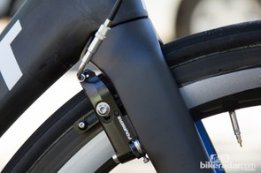 One item that isn't available on the aftermarket Propel - mini-V brakes from small Swiss company Fouriers