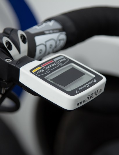 Kittel races with an SRM Power Control 7 head unit