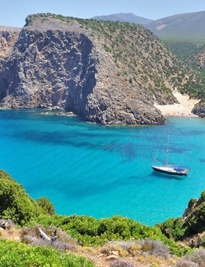 Cala Domestica beach, Sardinia – if only all trails ended somewhere like this!