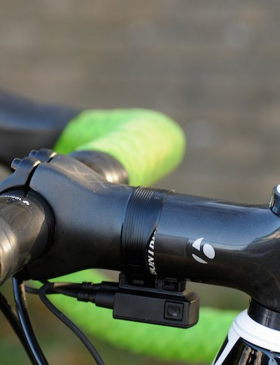 Sven uses a 120mm Bontrager XXX stem and only 7mm of spacers beneath it