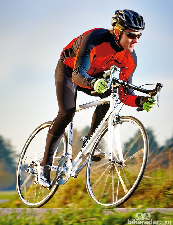 The Ridley Orion C20 gives a smooth ride