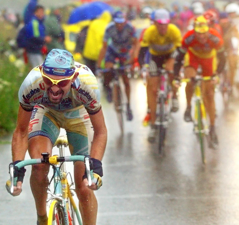 Marco Pantani a cui è dedicata la Pantanissima
