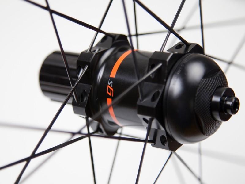 PowerTap's new GS hub adds about 150g to a standard Zipp 202 wheelset