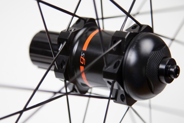PowerTap's new GS hub adds about 150g to a standard Zipp 202 wheelset