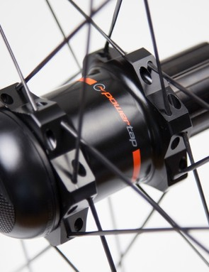 PowerTap's new GS hub can be built into a variety of high-end rims