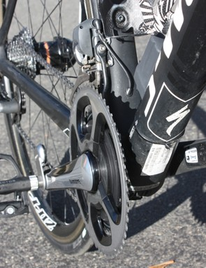 A set of Garmin Vector pedals can move fairly easily between one or more road bikes and TT/tri bikes, but the 'cross bike is out of the picture