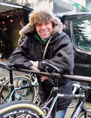 At 50, Mike Kluge is as passionate about his bikes as ever, and still very useful on a cyclocross bike