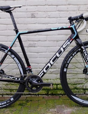 Mike Kluge's test Mares CX was one of the few disc versions currently in existence