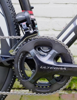 This bike was fitted with Shimano Ultegra Di2