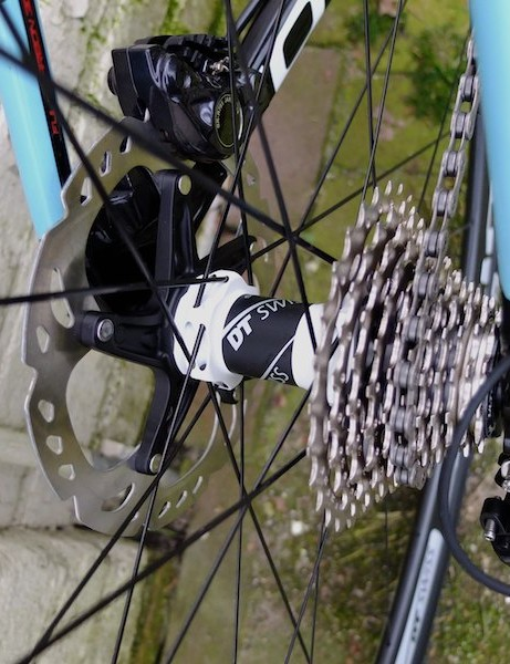 DT Swiss disc hubs and Ultegra Di2