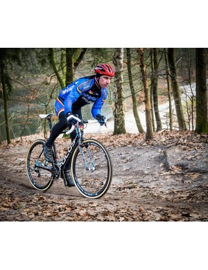 First ride testing of the Mares CX in the Hilversum 'cross rider's playground