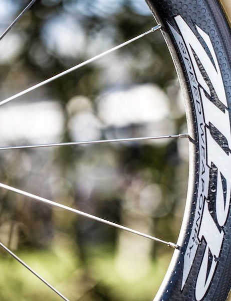 Stybar's name graces all his Dugast-shod wheelsets