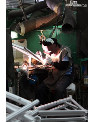 For the most part, welders are supplied with individual cubicles so they can get their work done relatively undisturbed