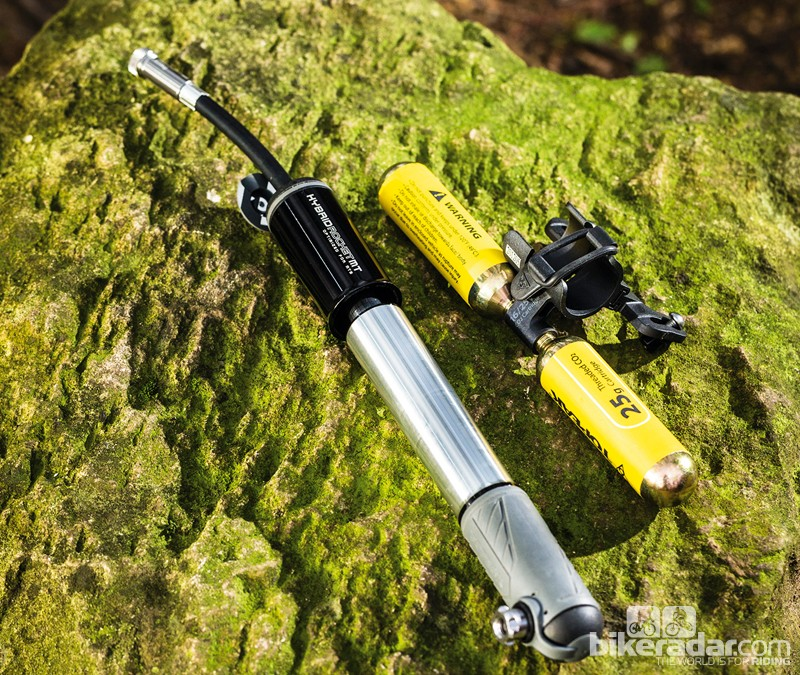 Topeak Hybrid Rocket MT mini-pump