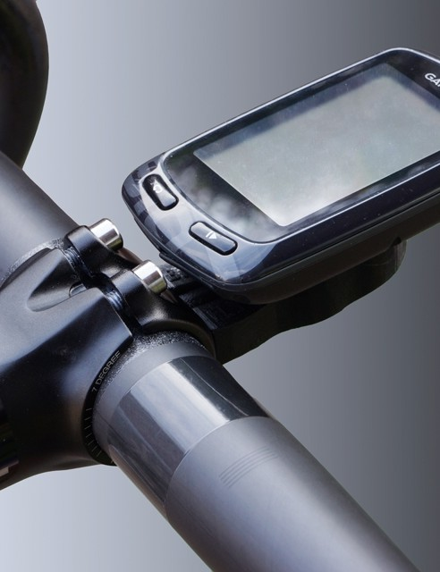 Bar Fly's new fi'zi:k-specific mount is an exceptionally clean-looking option for attaching newer Garmin Edge computers