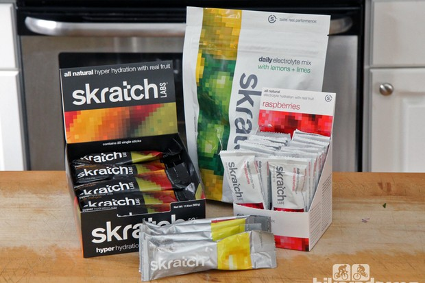 Skratch Labs has filled out its range of drink mixes with its new high-sodium Hyper Hydration blend and a low-sodium Daily Electrolyte formula
