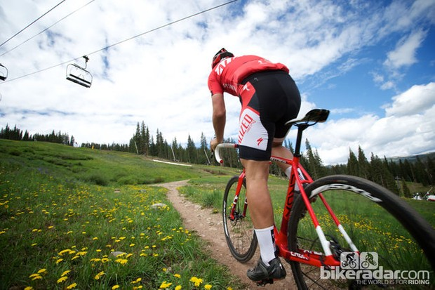 The Specialized Crux gets tested by BikeRadar