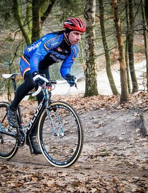 The new Focus Mares under test at the 2014 CX World Championships