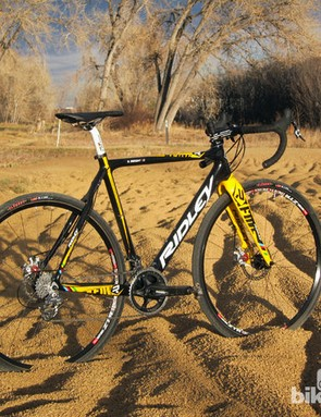 Cyclocross bikes must be able to handle a huge range of conditions