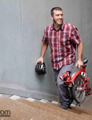 Folding bikes have a place, such as inner-city transport or as an easy travel bike