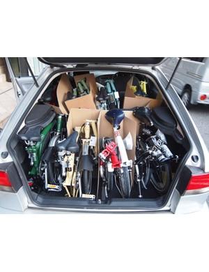Little beats a folding bike when space is a concern