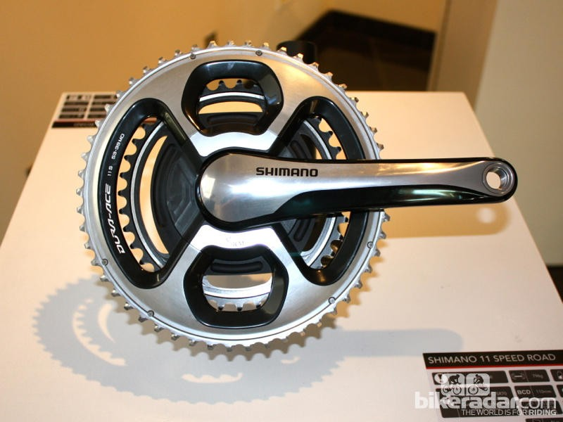 SRM's big-selling crank, the Shimano Dura-Ace 9000